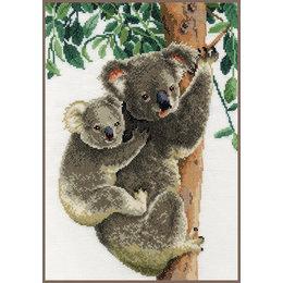 Vervaco Zählmusterpackung Koala mit Baby