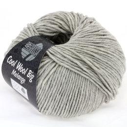 Lana Grossa Cool Wool Big 616 - Hellgrau meliert