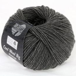 Lana Grossa Cool Wool Big 617 - Dunkelgrau meliert