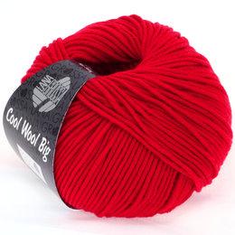 Lana Grossa Cool Wool Big 648 - Karminrot