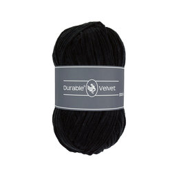 Durable Velvet 325 - Black
