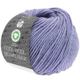 Lana Grossa Cool Wool Big Melange GOTS 201 - Flieder meliert