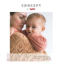 Katia Magazin Cotton In Love: Modelle für Mamas und Babys