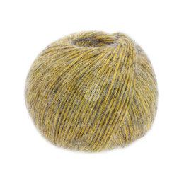 Lana Grossa Puno Due 008 - Gelb/Grau