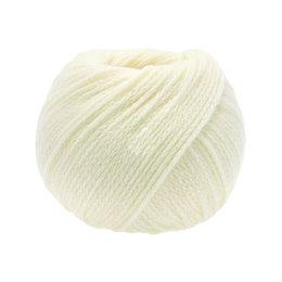 Lana Grossa Cool Merino 015 - Weiß