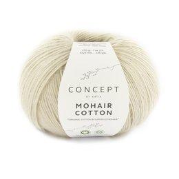 Katia Mohair Cotton 77 - Steingrau