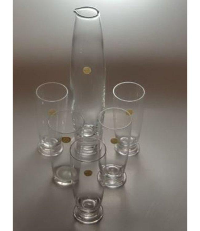 Siem van der Marel Siem van der Marel - Leerdam Glaswerk - servies Luna (1997)