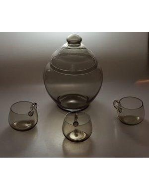 Leerdam Glaskunst Andries Copier - Bowlstel Fumi (1923)