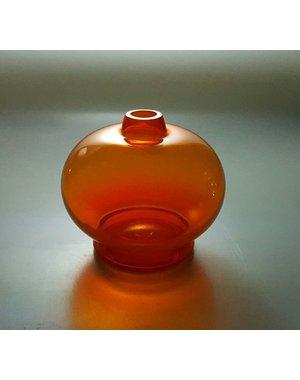 Leerdam Glaskunst Menno Jonker - Oranjevaasje Beatrix 75 jaar (2013)