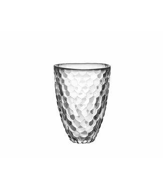 Orrefors Crystal Orrefors vaas Raspberry (Helder) 16 cm