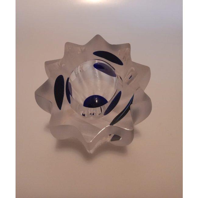Royal Leerdam (Glasfabriek Leerdam) Olaf Stevens - Museumjaarobject 1994