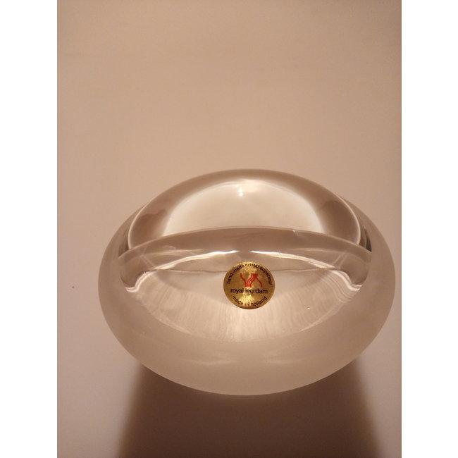 Royal Leerdam (Glasfabriek Leerdam) Barbara Nanning - Beursobject 2003  ' ogen - blik '