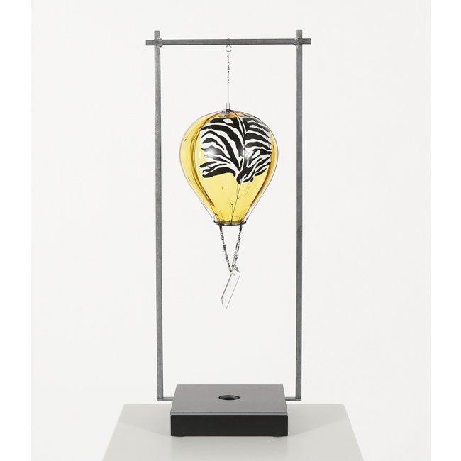 Kjell Engman Kosta Boda luchtballon Zebra