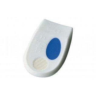 PEDI PRO PLUS anatomische hielkussen, wit met blauw