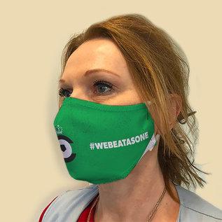 Gepersonaliseerd masker - grote oplagen mogelijk - min 100 stuks