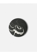 Onderzetter 20cm Black Marble