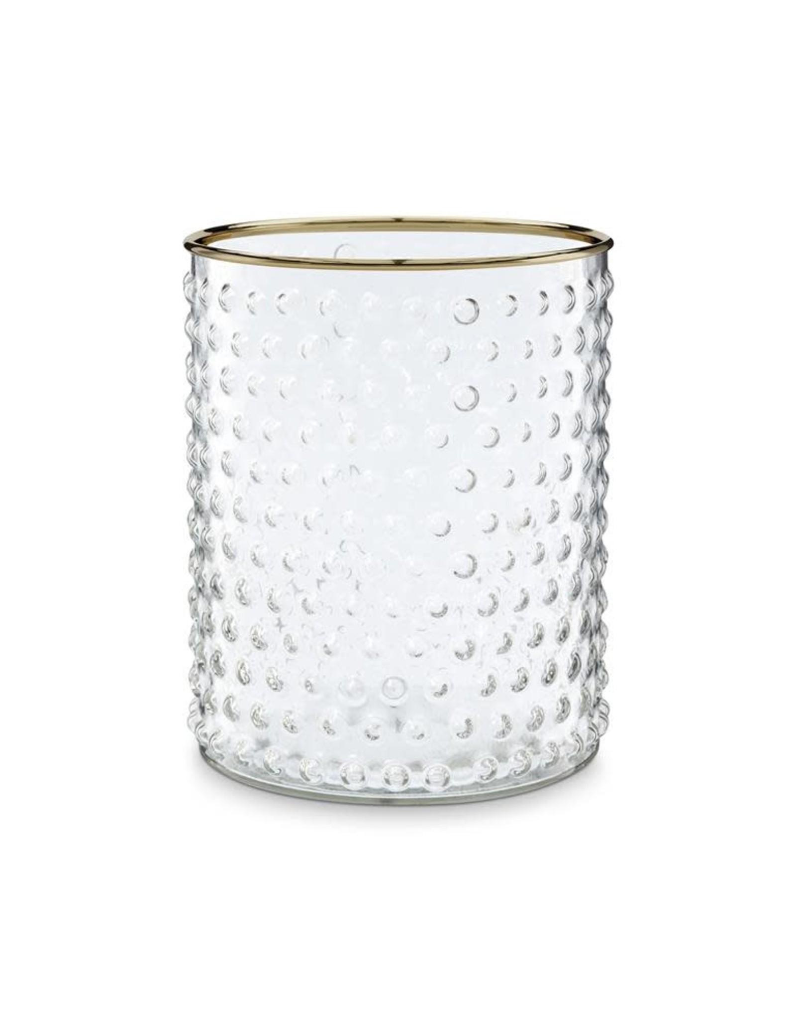 Vaas Glas Gouden Rand