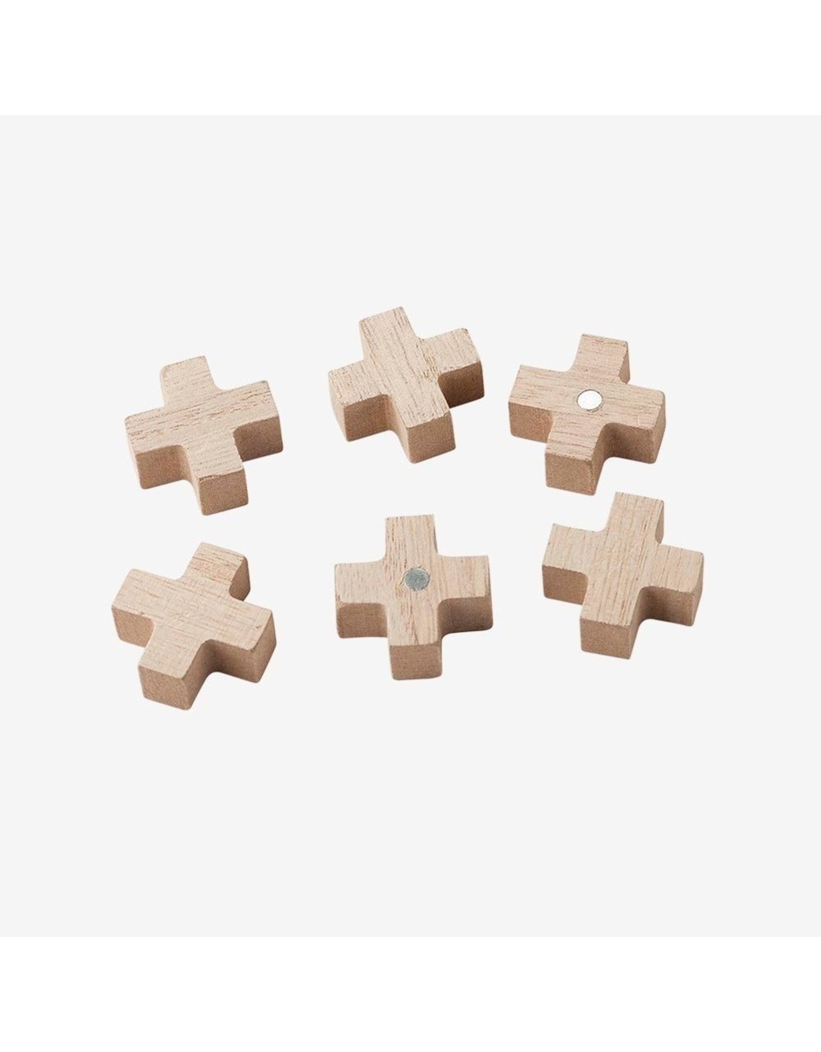 Set van 6 Magneetjes Kruis