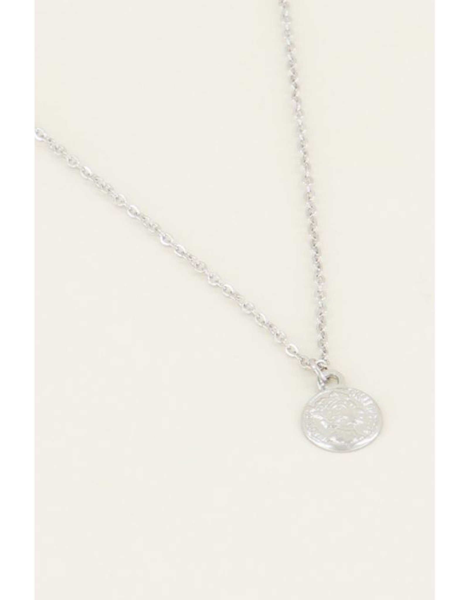 Ketting Muntje Zilver