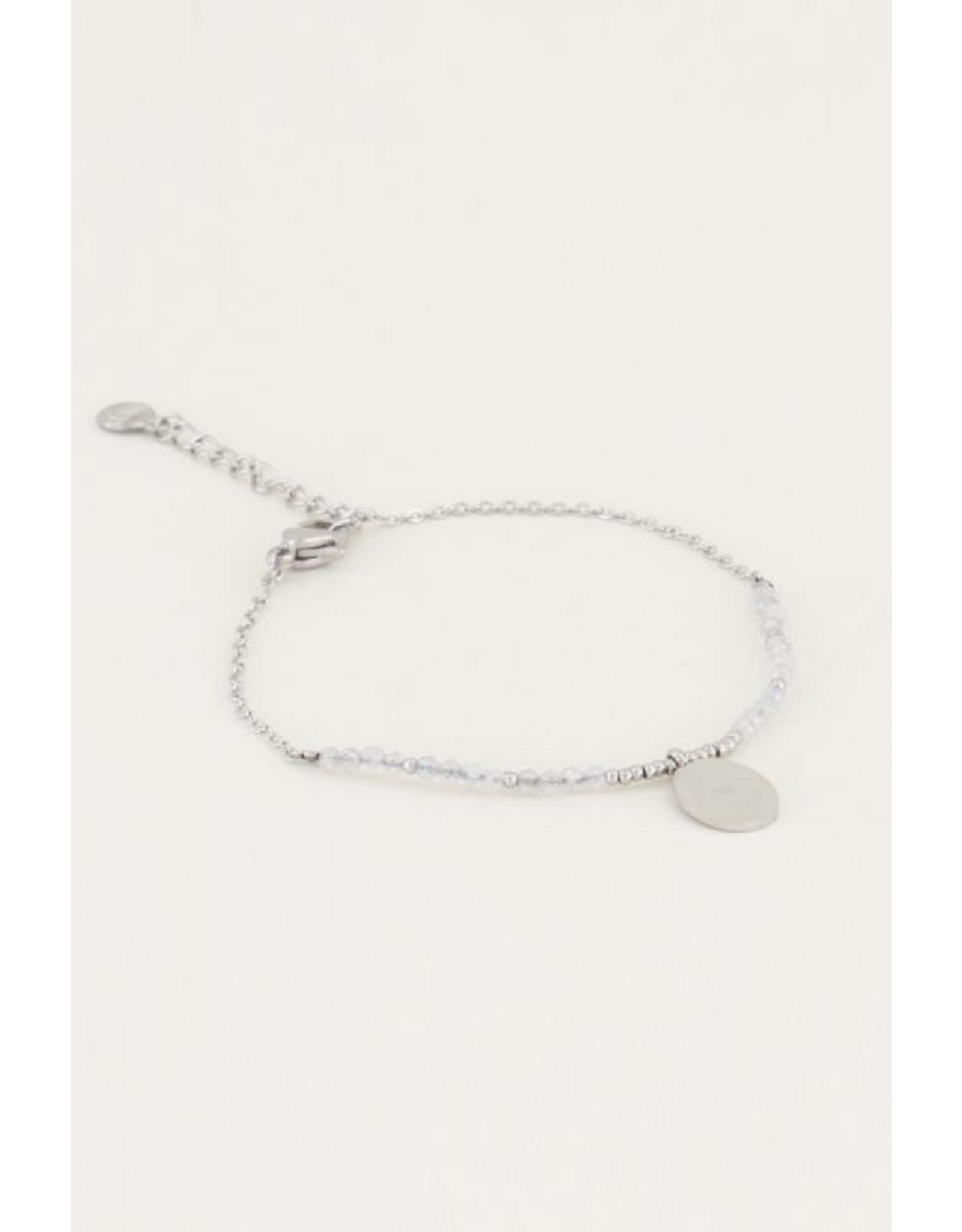 Armband Bedel Labradorite Zilver