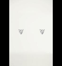 Studs Luipaard Zilver