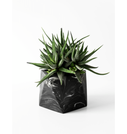 Plantenpot Mare Large Black Marble