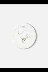 Onderzetter 20cm White Marble