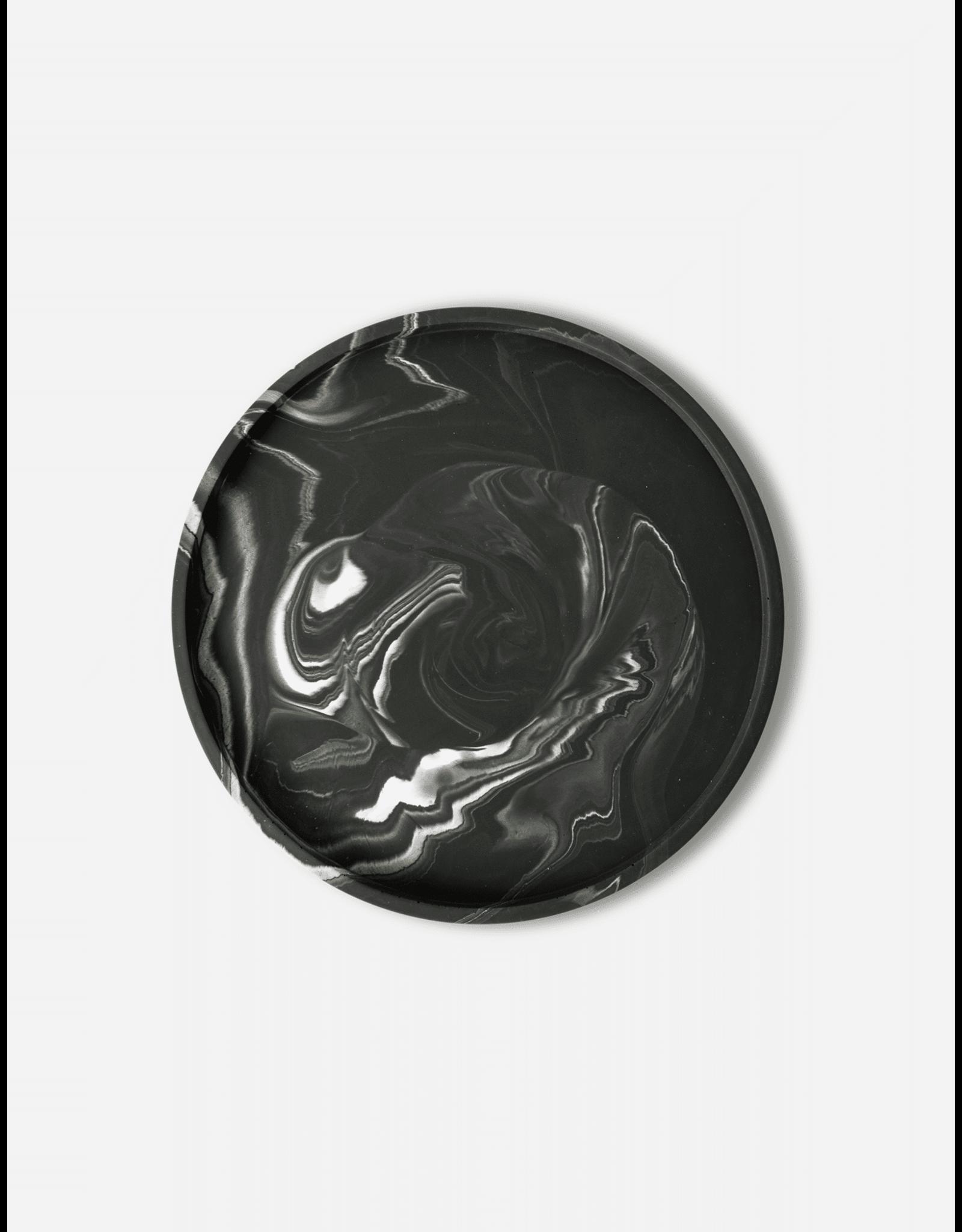 Onderzetter Vassaio Black Marble 29cm