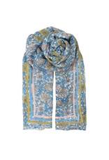 Sjaal Lichtblauw/Roze