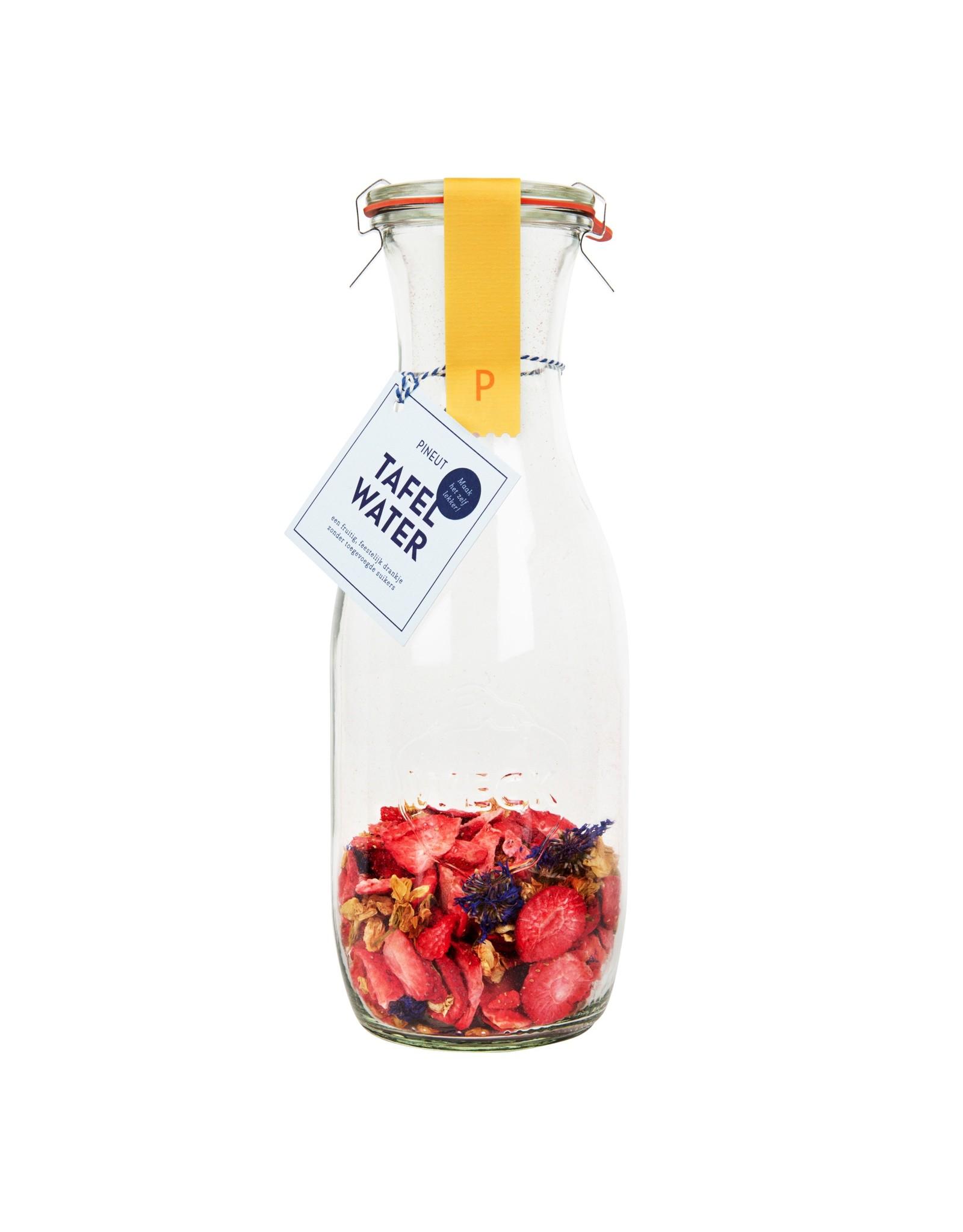 Tafelwater Aardbei Jasmijn Korenbloem