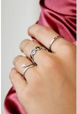 Ring Slang Zilver