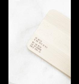 Houten broodplankje Meter