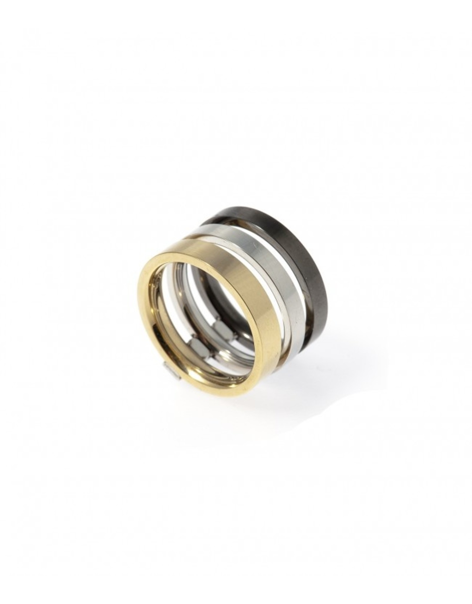 Ring Goud/Staal/Gun