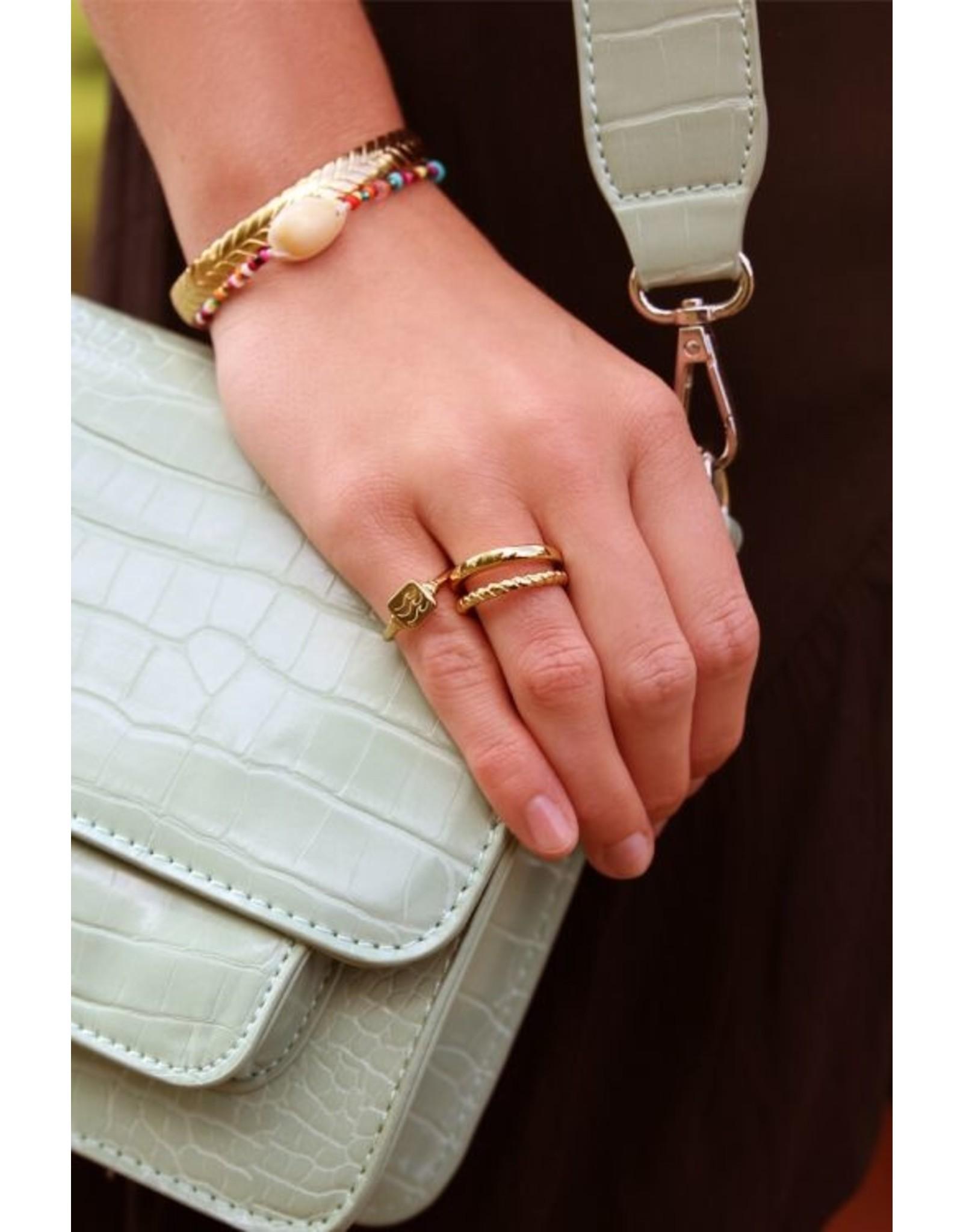 Ring Dubbel Goud