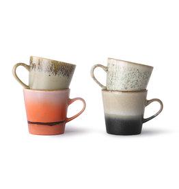 Set van 4 americano koffietassen
