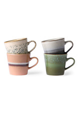 Set van 4 koffietassen Large