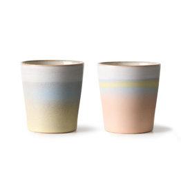 Set van 2 koffietassen