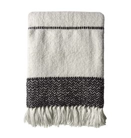 Plaid Berber Offwhite