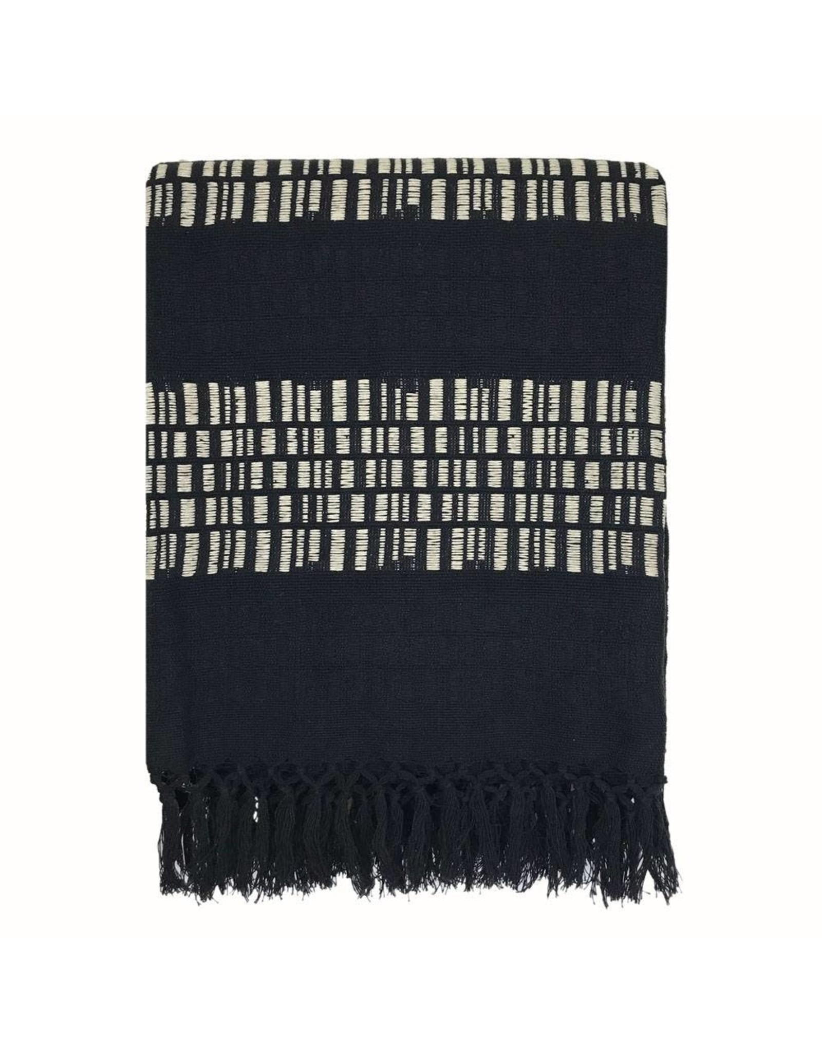 Plaid Bark Stripe Black