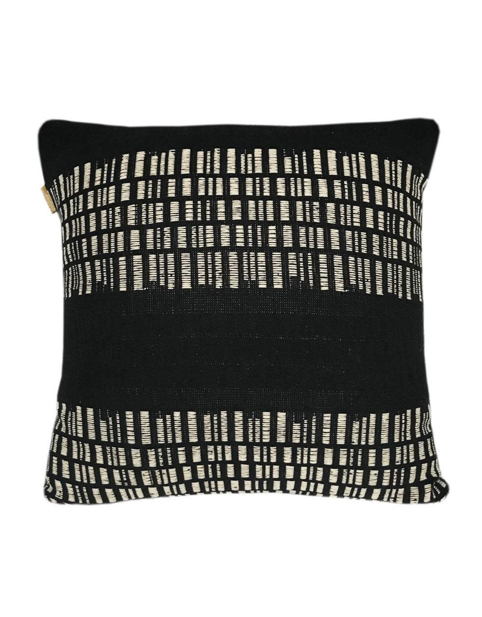 Kussen Bark Stripe Black