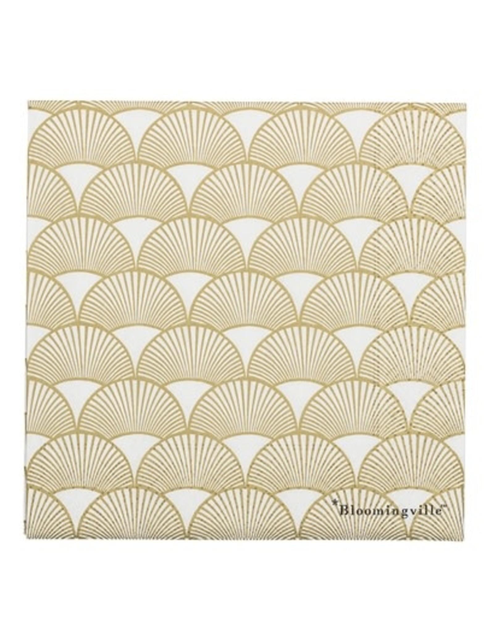 Servietten papier goud