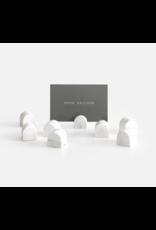 Kaarthouders White Marble 8 stuks