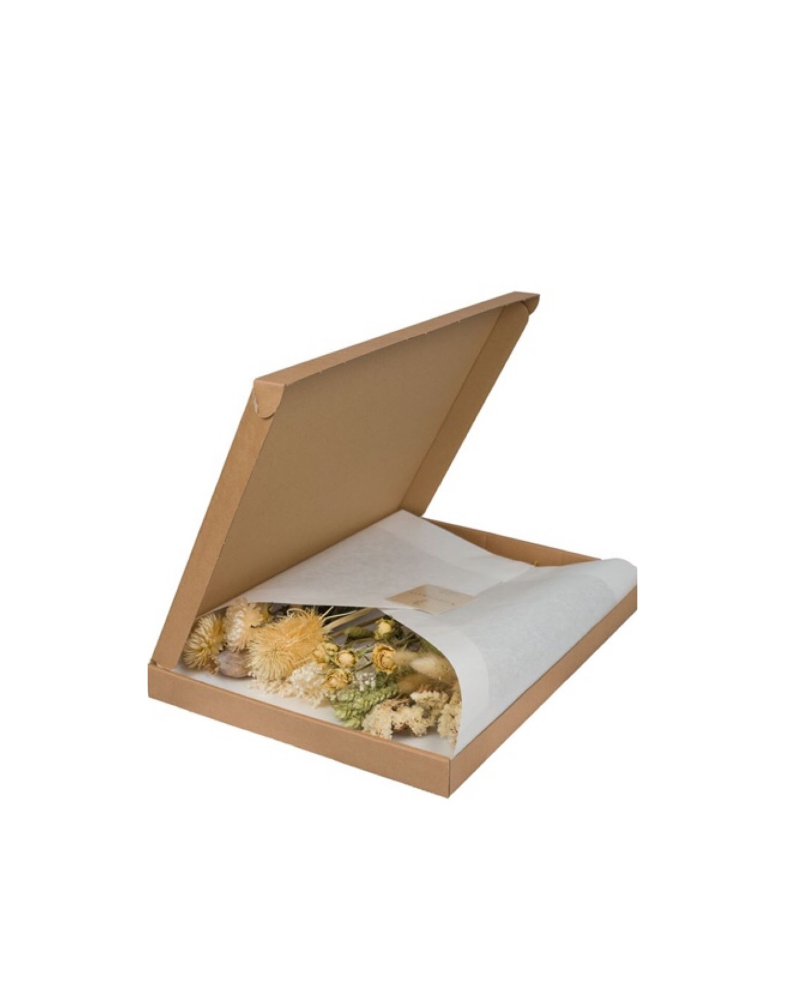 Letterbox Droogbloemen Naturel