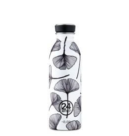 Urban Bottle 500ml Black White