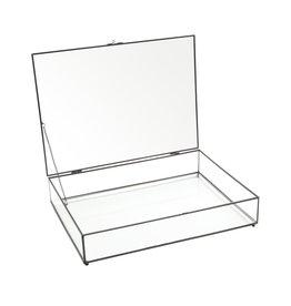 Glazen Kistje Zwart Frame
