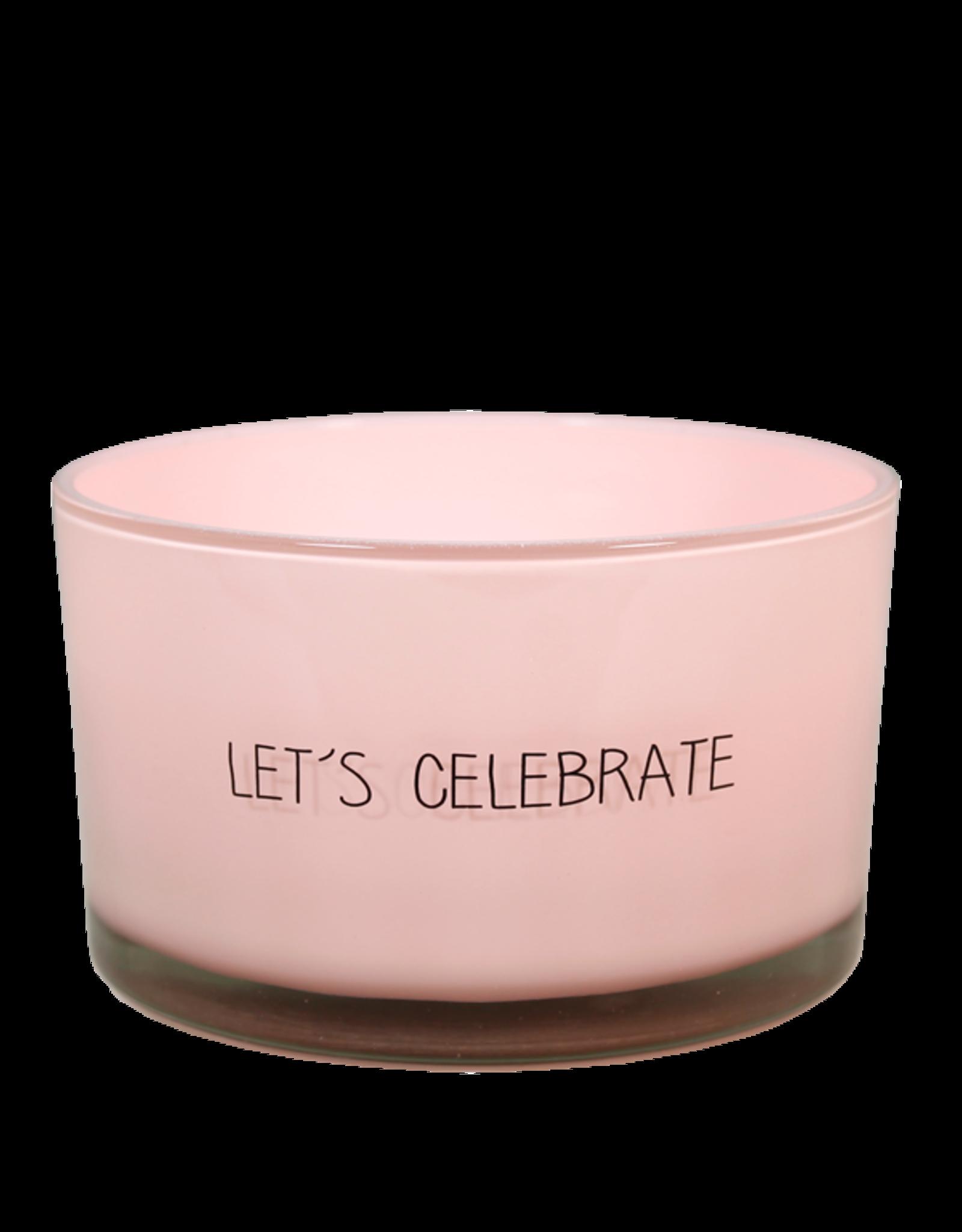 Geurkaars Roze 'Celebrate'