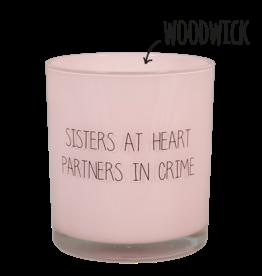 Geurkaars Roze 'Sisters'