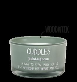 Geurkaars Groen 'Cuddles'
