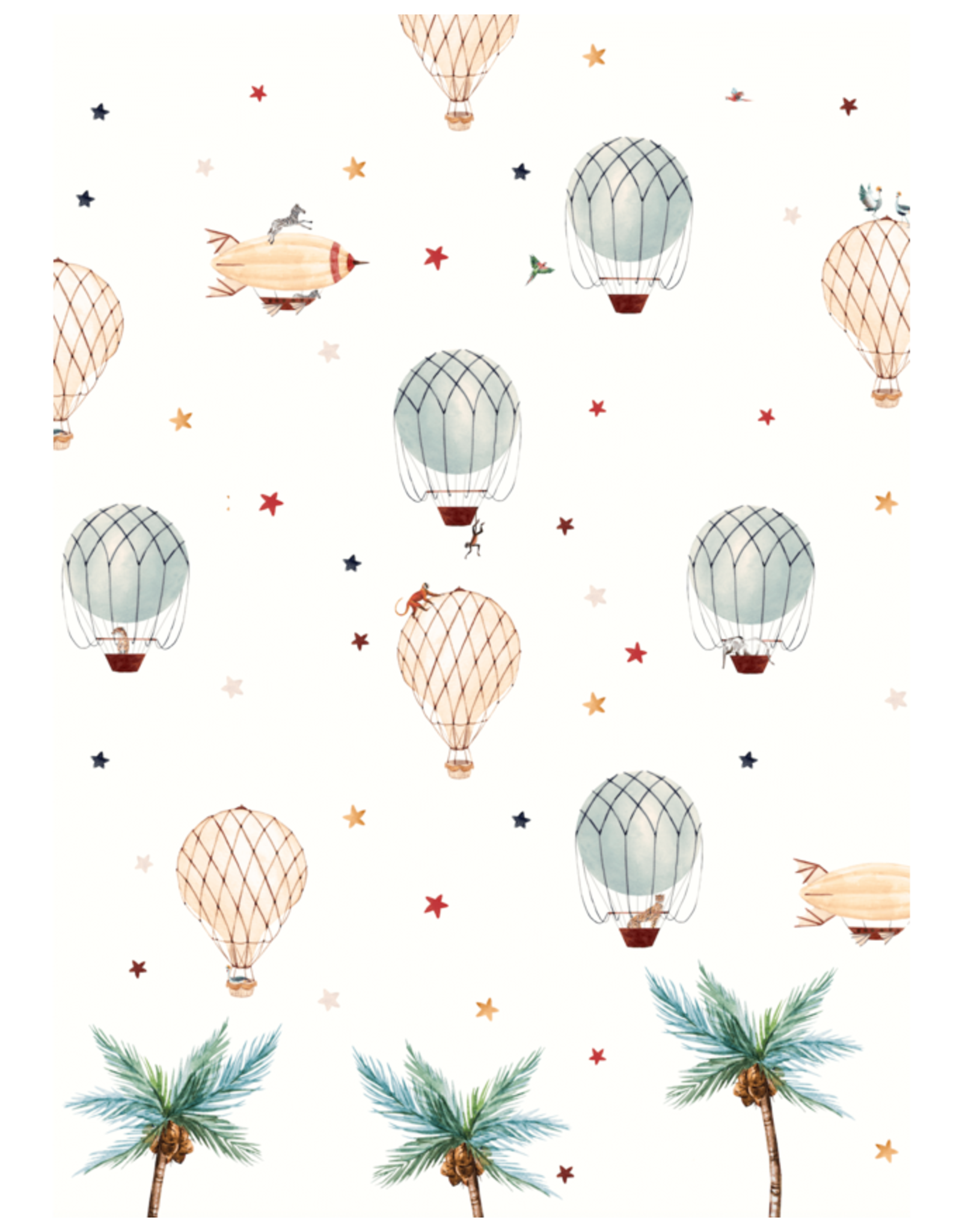 Behangpapier luchtballon