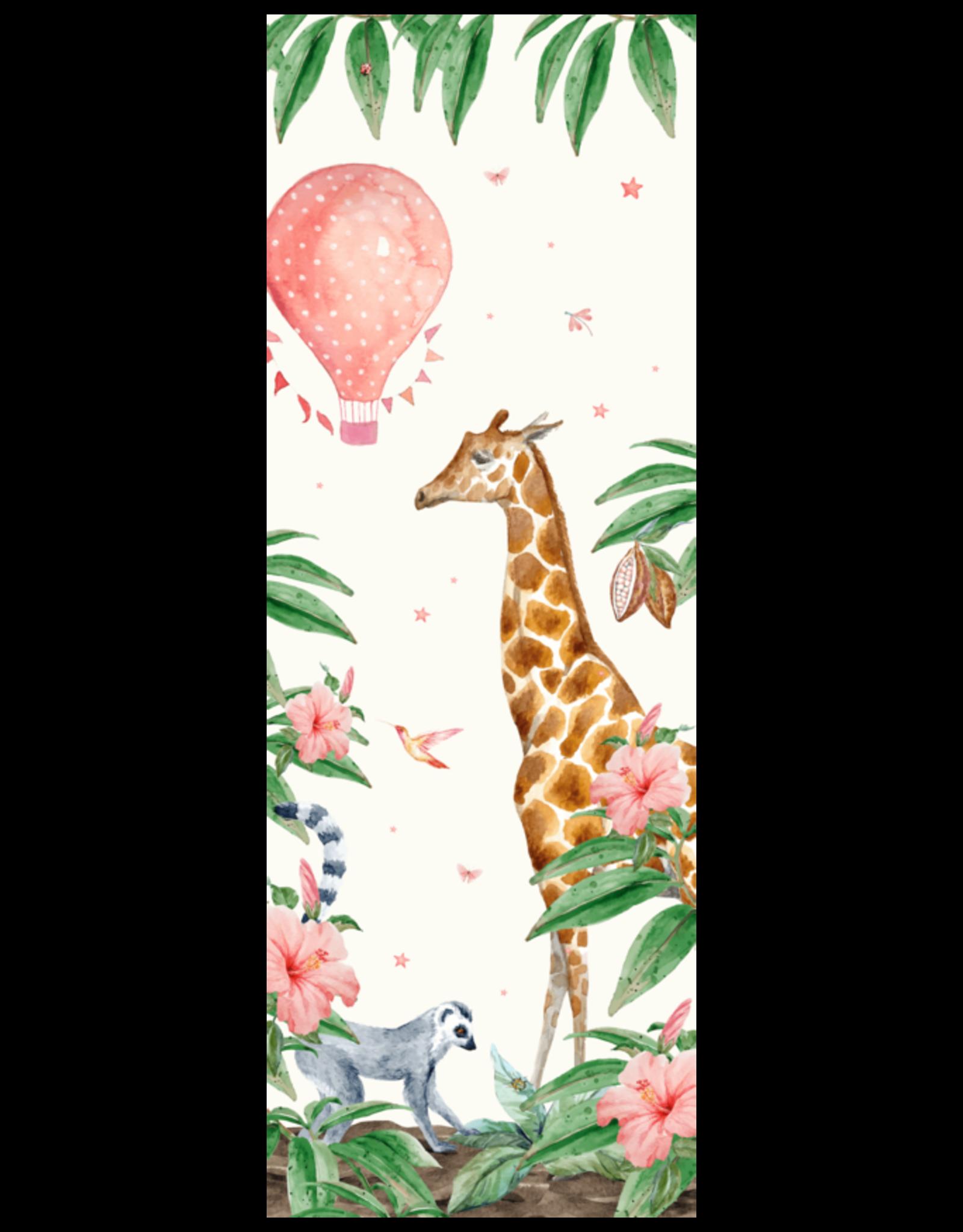 Behangpapier giraf